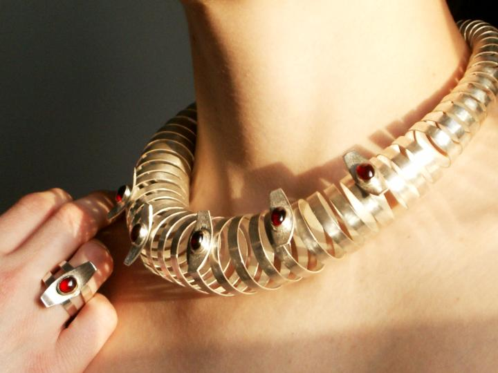 Spiral designer jewellery by Daniela Dobesova :  spiral jewelry jewellery danieladobesova
